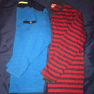 Boys long sleeve shirts - 2